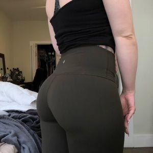 Lululemon wunder under leggings